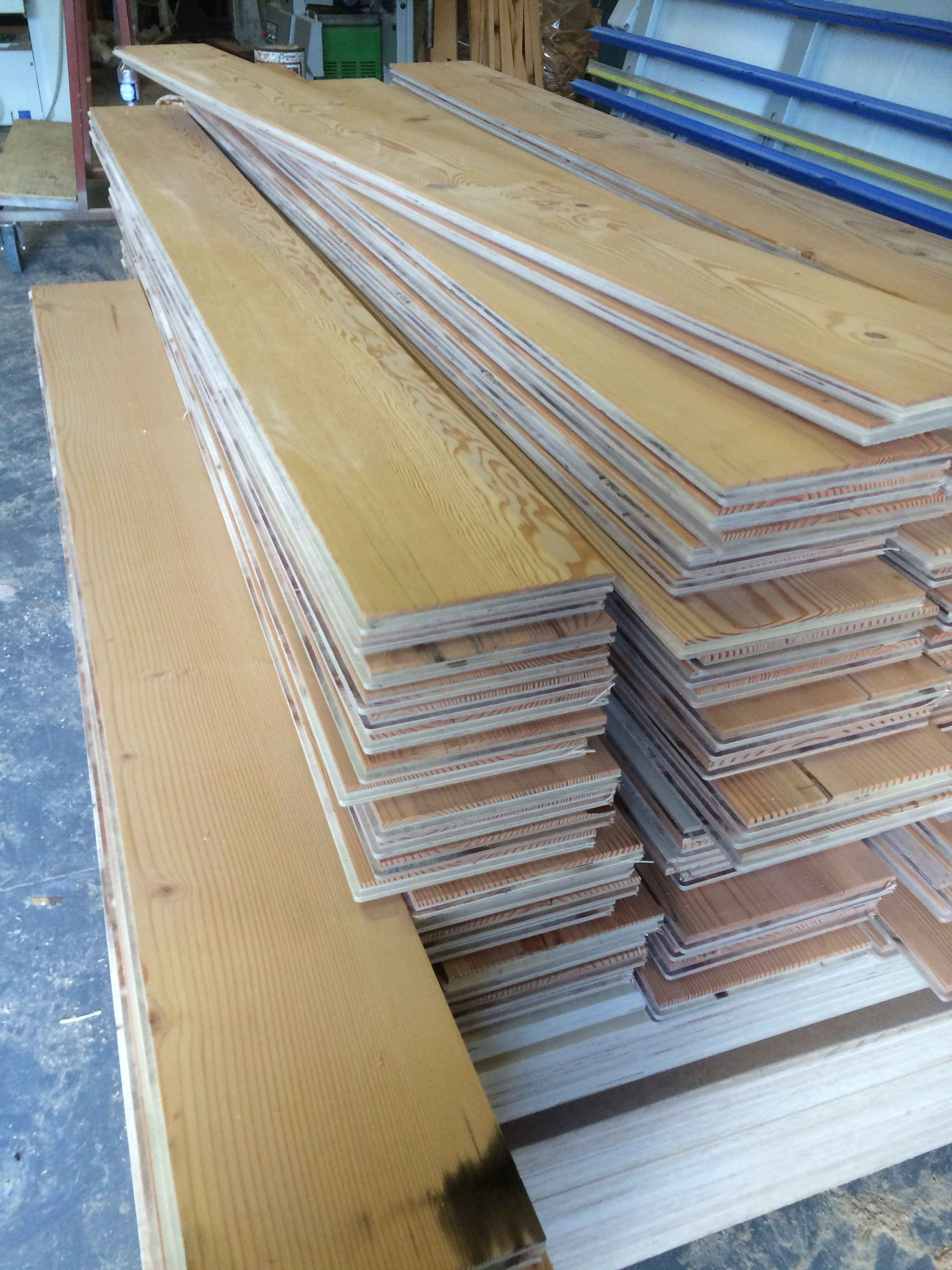 Reclaimed Douglas Fir Flooring Off To London