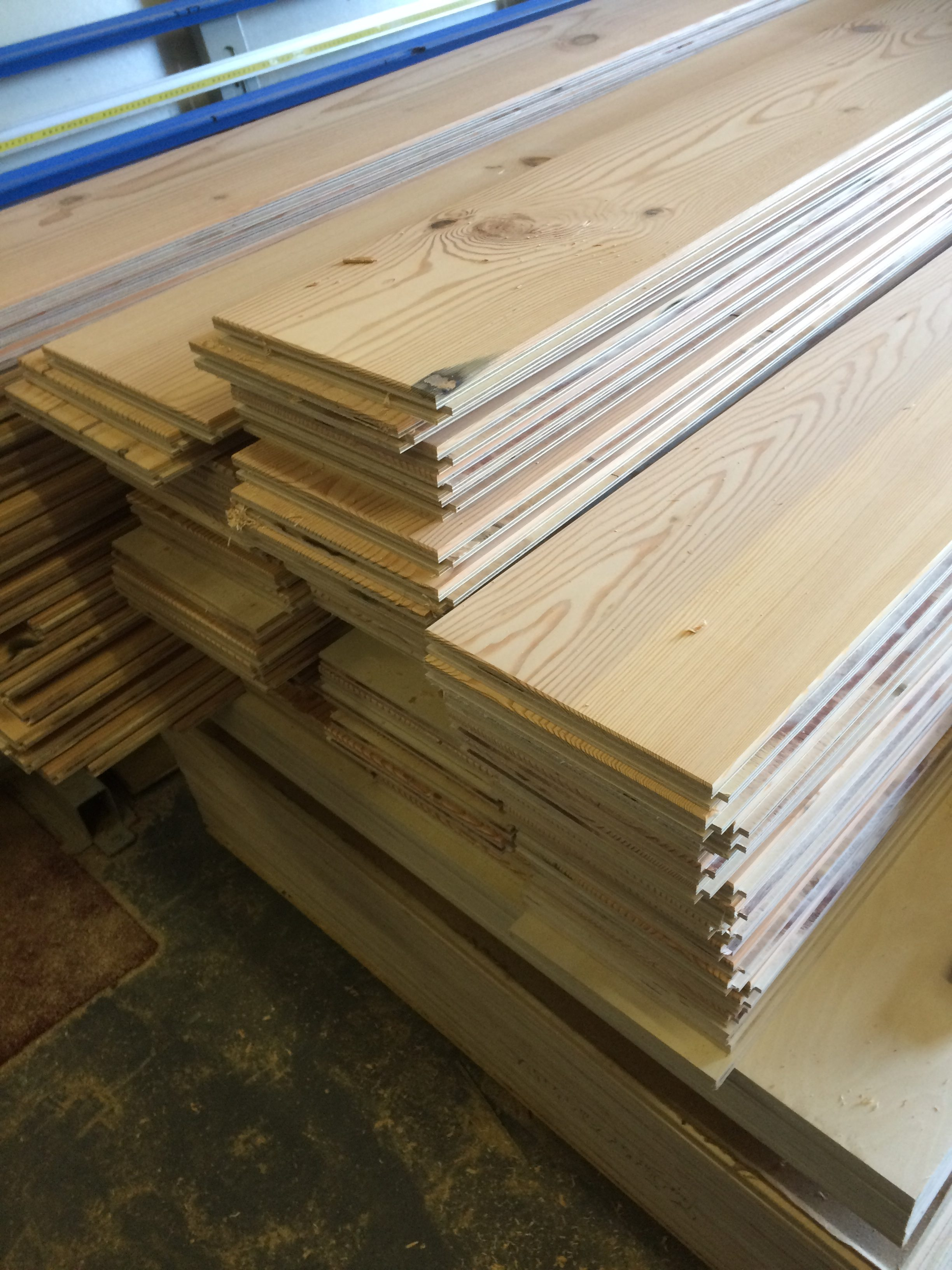 Reclaimed douglas fir flooring off to london for Reclaimed douglas fir flooring