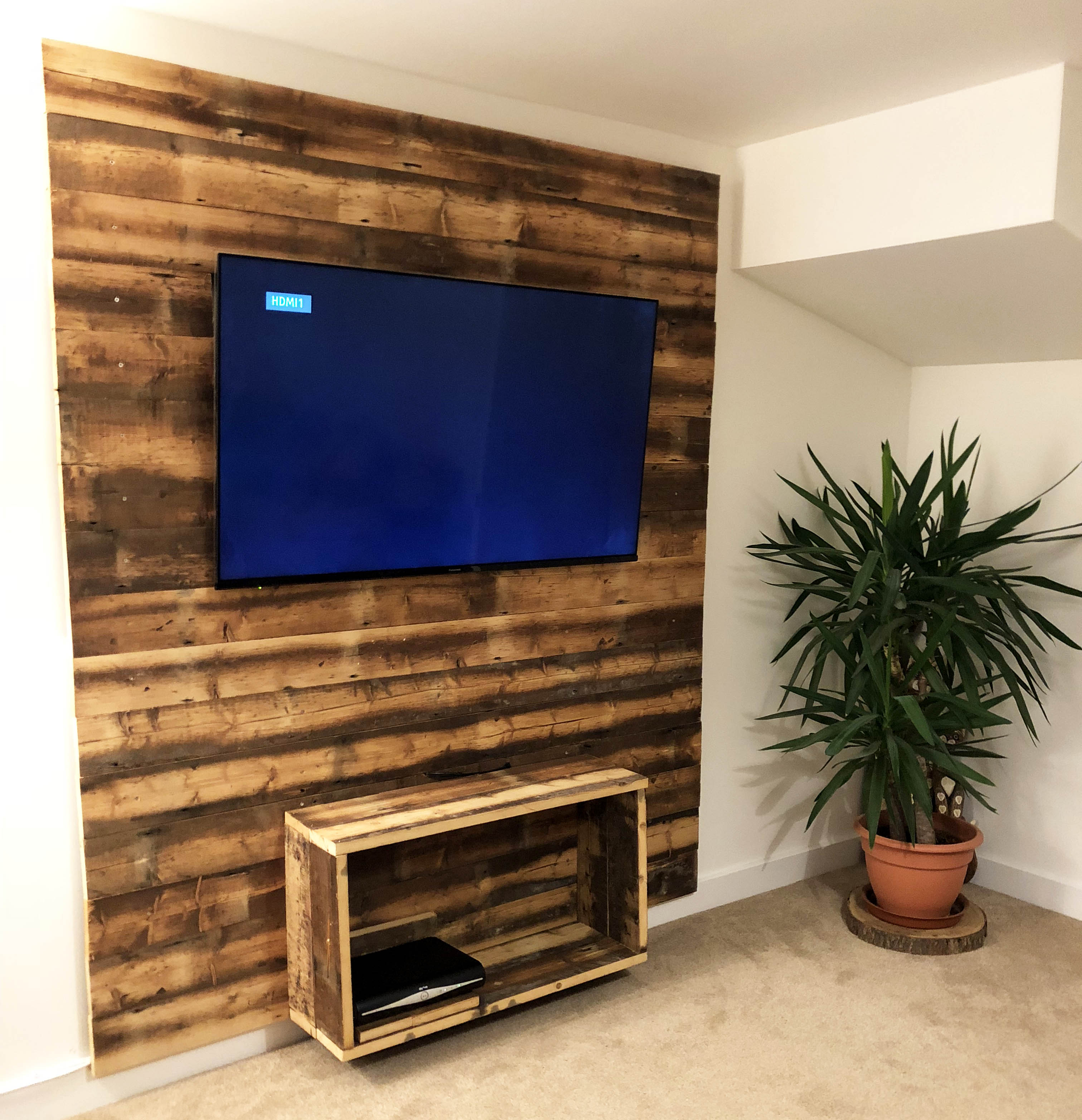 engineered wall display