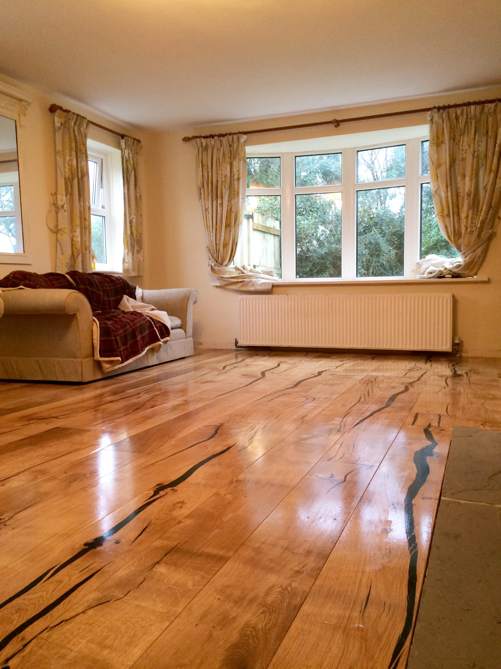 Natural oak flooring in St Agnes and Truro
