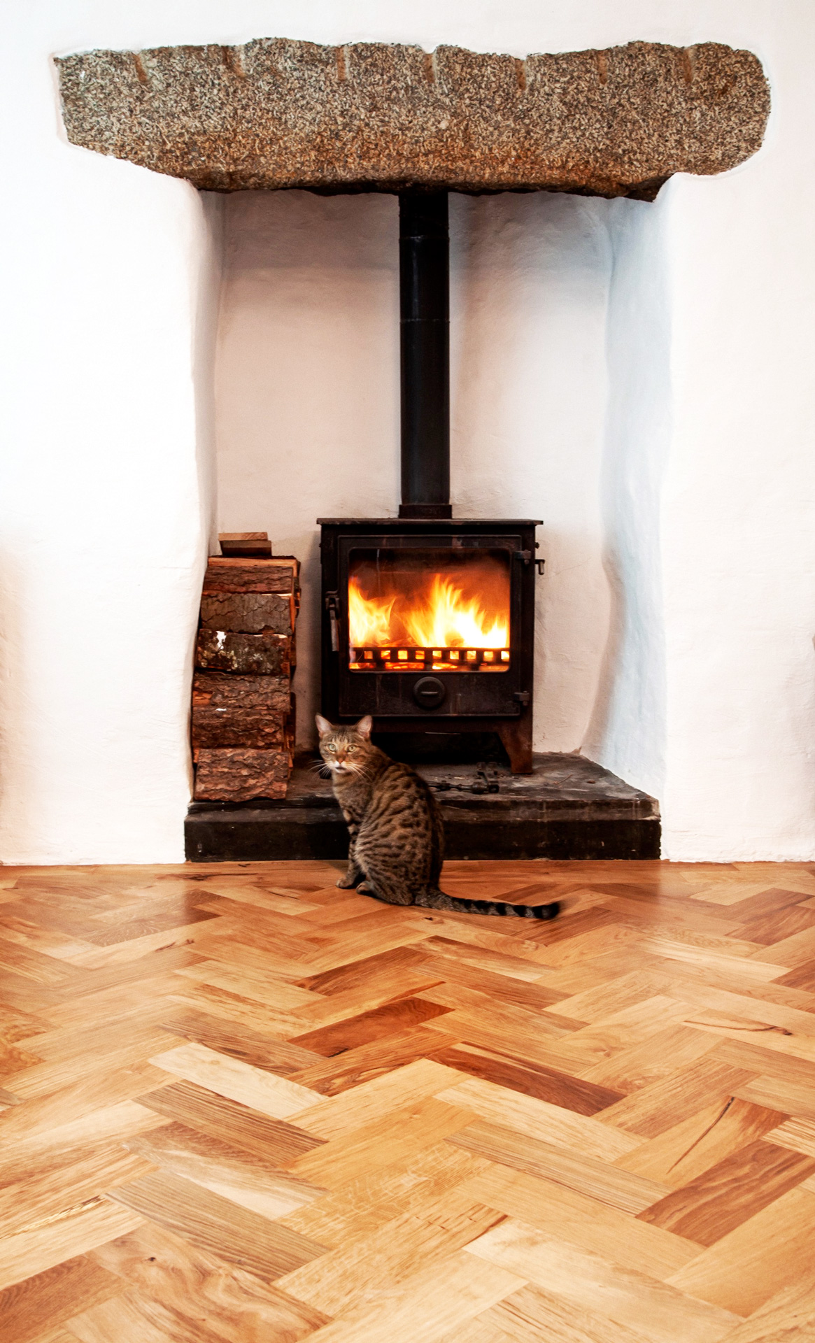 hardwood parquet flooring