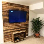 hardwood wall feature cornwall