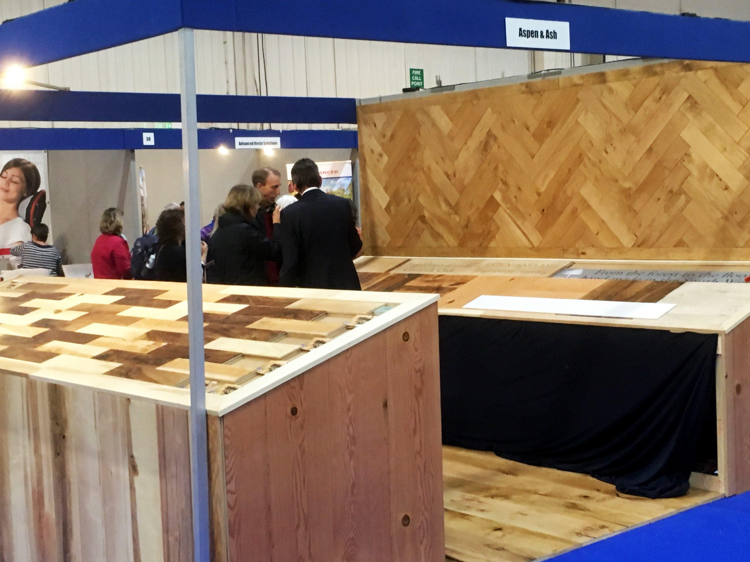 Aspen and Ash at Cornwall Home Show
