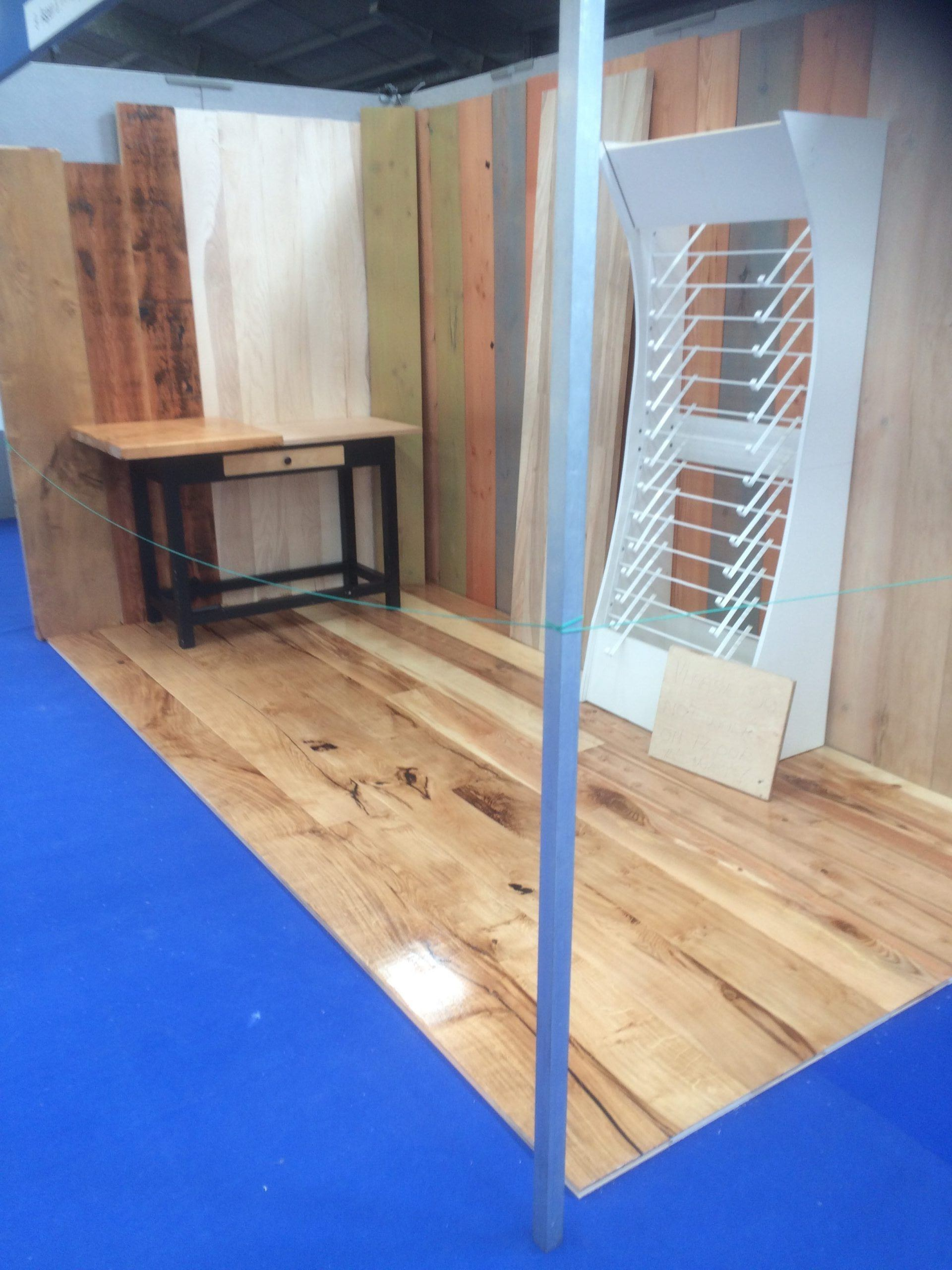 A very successful Cornwall Home and Lifestyle Show for Aspen and Ash flooring