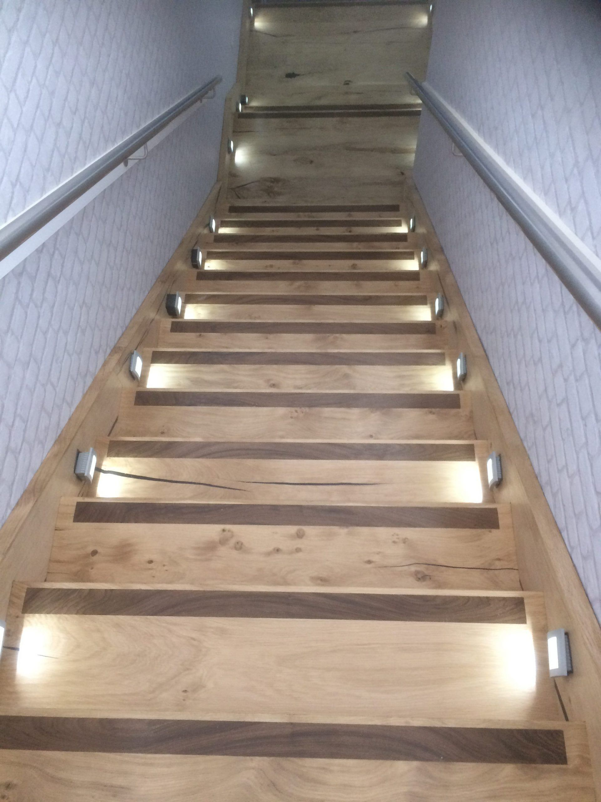 New Tregothnan oak stairway