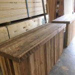 new bar tops oak