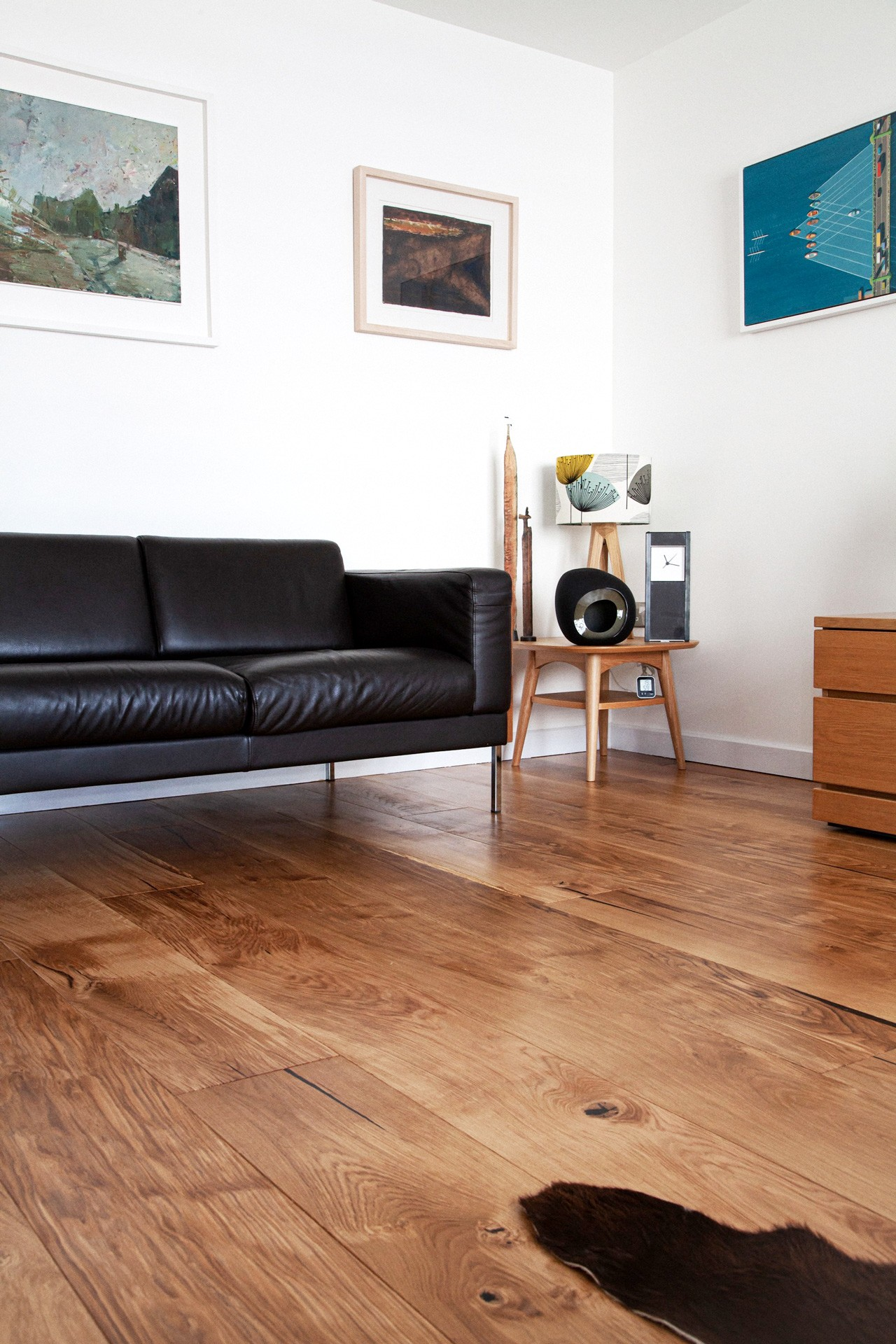 Back to St Agnes, Tregothnan oak flooring