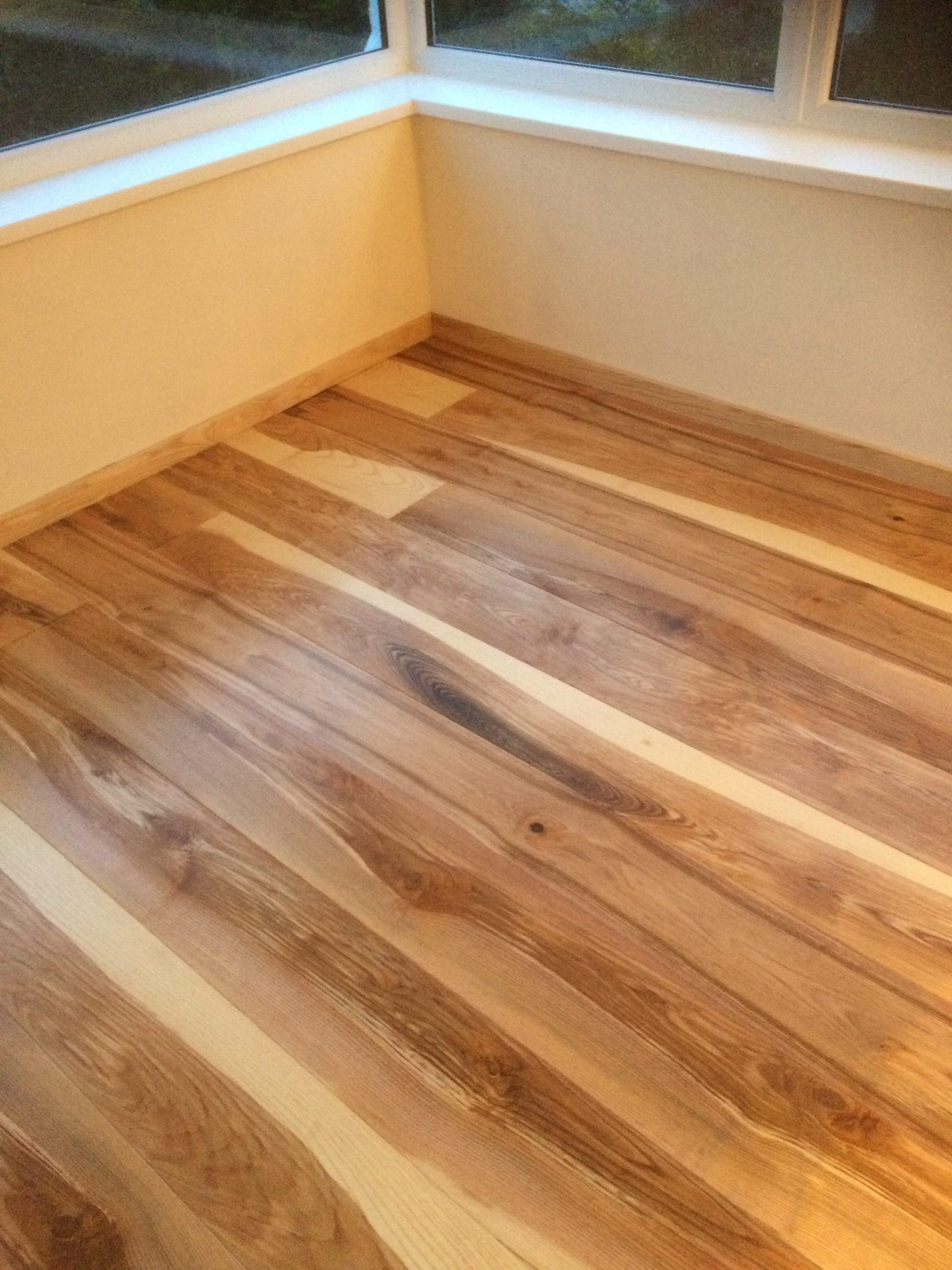 Olive Ash flooring for a conservatory